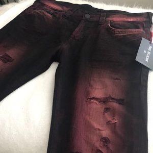 NWT True Religion Rocco No Flap Jeans 33